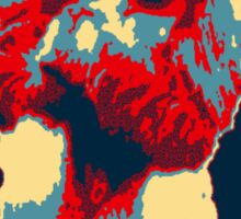Harambe RIP Silverback Gorilla Gentle Giant Obama Style Poster Tribute Cincinnati Zoo Sticker
