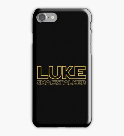 Luke Smacktalker iPhone Case/Skin