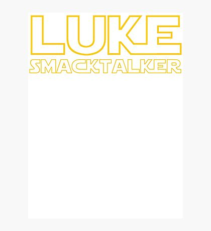 Luke Smacktalker Photographic Print