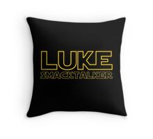 Luke Smacktalker Throw Pillow