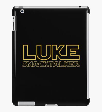Luke Smacktalker iPad Case/Skin
