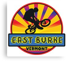 MOUNTAIN BIKE EAST BURKE VERMONT BIKING MOUNTAINS Canvas Print