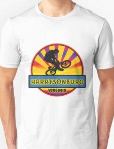 MOUNTAIN BIKE HARRISONBURG VIRGINIA BIKING MOUNTAINS Unisex T-Shirt