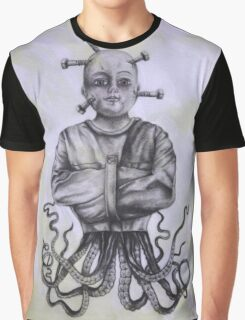 Twisted Octopus Insanity Doll Graphic T-Shirt