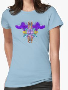 Who Ram I? (Purple) Womens Fitted T-Shirt