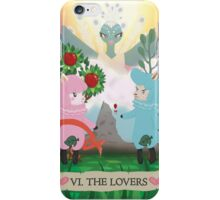 Tarot - VI The Lovers: Reese and Cyrus ACNL iPhone Case/Skin