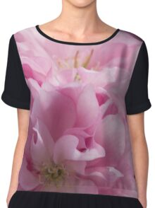 pink flowers on the trees Chiffon Top