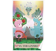 Tarot - VI The Lovers: Reese and Cyrus ACNL Poster