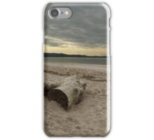 Driftwood On West Sands iPhone Case/Skin