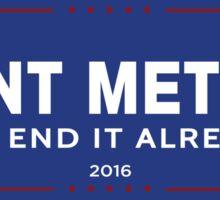GIANT METEOR 2016! Sticker