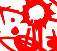 head, face, shoot headshot killer killer sniper teddy strike targeted visor gamer shooter comic cartoon Sticker