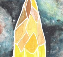 Space Pencil Sticker