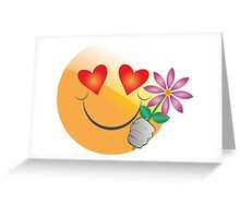 emotion love Greeting Card