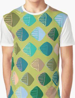 green diamonds Graphic T-Shirt
