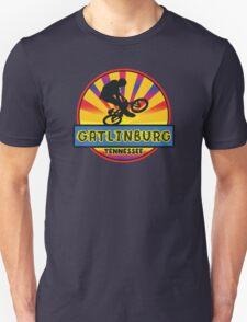 MOUNTAIN BIKE GATLINBURG TENNESSEE BIKING MOUNTAINS Unisex T-Shirt