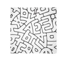 Alphabet Scarf