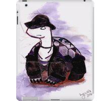 Tiny Turtle Undertaker iPad Case/Skin