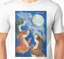 Three Tweasel Moon Unisex T-Shirt