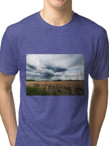 Midwest Storm Clouds  Tri-blend T-Shirt