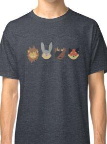 Scratch21 Minimal - Line Layout Classic T-Shirt