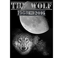 The Wolf Tribute Born To Be Wild Version Full Black Photographic Print