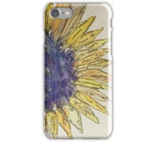 Watercolor Sunflower iPhone Case/Skin