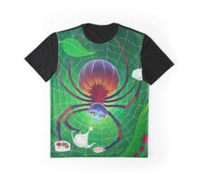 Spider Snack Graphic T-Shirt