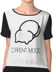current mood Chiffon Top