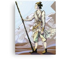 A Desert Girl Canvas Print