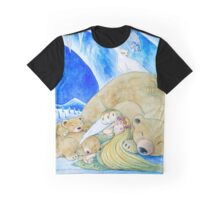 Winter Night Graphic T-Shirt