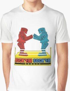 Rock'em Sock'em - 2D Original Text Variant Graphic T-Shirt