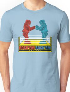 Rock'em Sock'em - 2D Original Text Variant Unisex T-Shirt