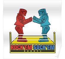 Rock'em Sock'em - 2D Original Text Variant Poster