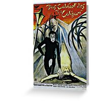 Caligari Poster  Greeting Card