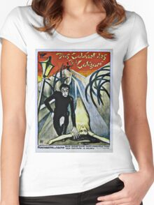 Caligari Poster 2 Women's Fitted Scoop T-Shirt