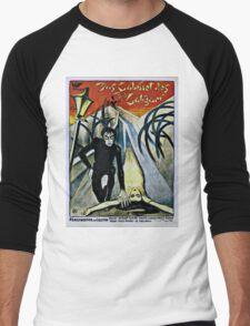 Caligari Poster 2 Men's Baseball ¾ T-Shirt
