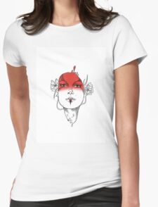 Seeing Red - Digital Ink Womens Fitted T-Shirt