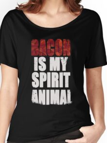 Bacon is my Spirit Animal Women's Relaxed Fit T-Shirt