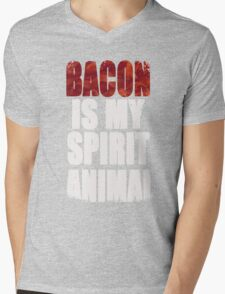 Bacon is my Spirit Animal Mens V-Neck T-Shirt