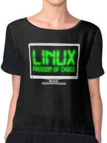 Linux - Freedom Of Choice Chiffon Top