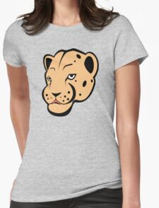 Leopard Womens Fitted T-Shirt