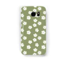 Elderflowers on green Samsung Galaxy Case/Skin
