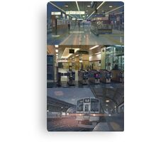 Anime Metro Station Canvas Print