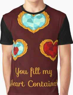 HEART CONTAINER Graphic T-Shirt