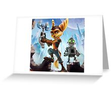 ratchet clank robot 2016 Greeting Card