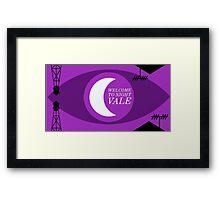 Night Vale Landscape Framed Print