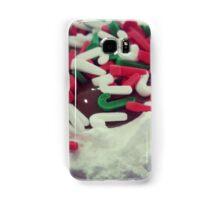 Christmas Cupcake Samsung Galaxy Case/Skin