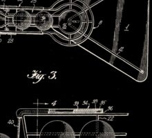 Basketball Practice Device Patent 1960 Part 2 Sticker