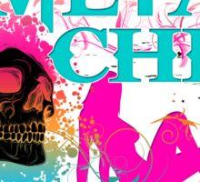 METAL CHICK Sticker