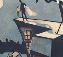 Rare Caligari PosterTouch-Up Sticker